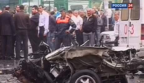 Výbuch v Severní Osetii si vyžádal jedenáct lidksých životů (9. září 2010)