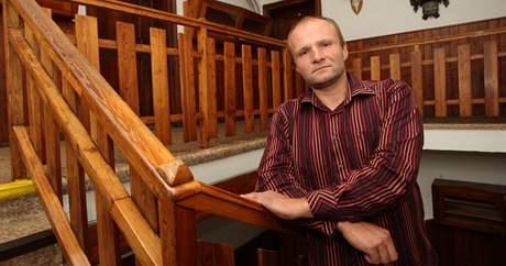 Ředitel výchovného ustavu ve Chvalčově Pavel Schönwälder.