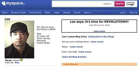Profil James Leea, který měl vzít rukojmí v sídle televize Discovery Channel