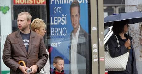 Politické strany zahájily v Brně kampaň před komunálními volbami.