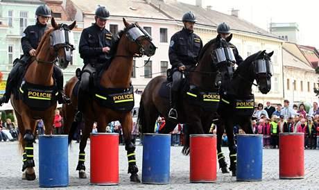 Den s policií v Uherském Hradišti.