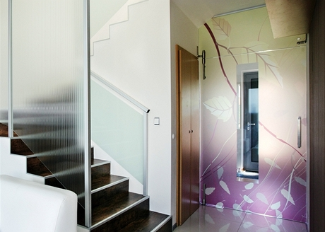 Folie na skleněné dveře
