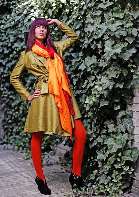 Kristina Kašparová po proměně v modelu od Mimi Lan