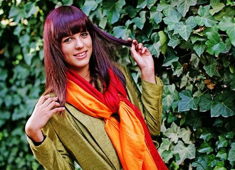 Čtenářka Kristina po proměně v modelu od Mimi Lan