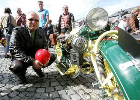 Nejdelší motorky světa Čechie - Böhmerland na srazu v Krásné Lípě