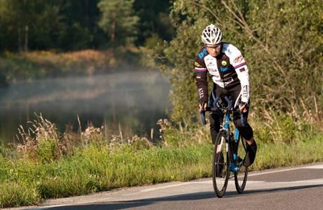Hana Ebertová při závodě Race Around Austria