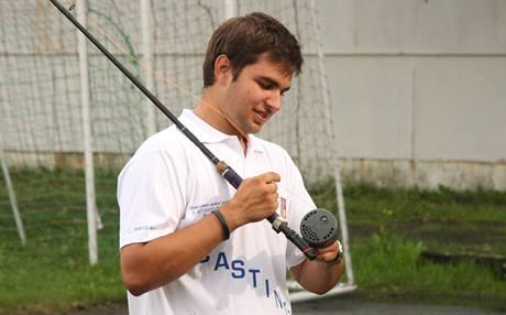 Český juniorský mistr světa ve sportovním rybolovu, osmnáctiletý Jan Weitz