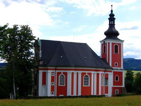 Božanov, kostel sv. Máří Magdalény