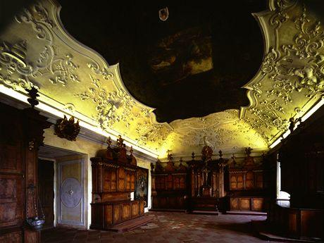 Sakristie kláštera vBroumově