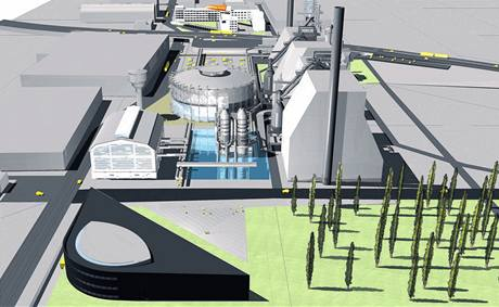 VE TVARU PŮLMĚSÍCE. Svět Techniky (černá budova vlevo dole) bude součástí opraveného areálu Dolní oblasti Vítkovic, který nabídne návštěvníkům odpočinek, zábavu i poučení.