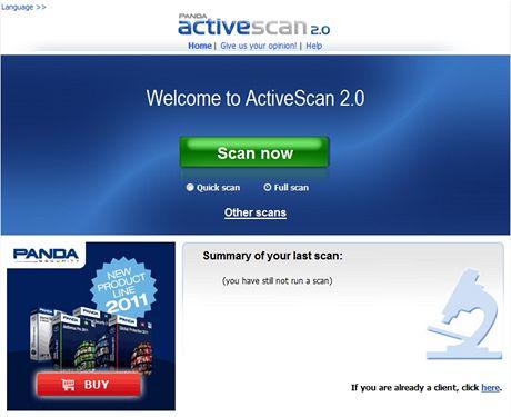 Panda ActiveScan