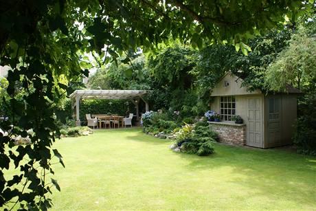Zahradní domek si v průběhu let prošel celou řadou změn