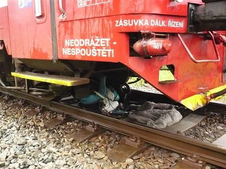 Železniční nehoda v Králíkách, pionýr pod vlakem