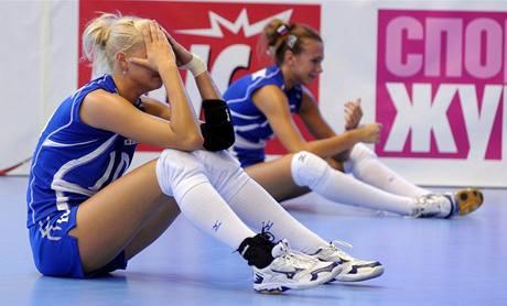 Ruské juniorky jsou zklamané po prohře s Českem