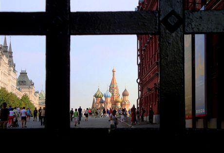 Moskva, brána na Rudé náměstí