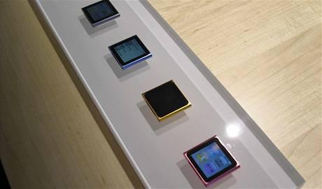 Nové iPody nano