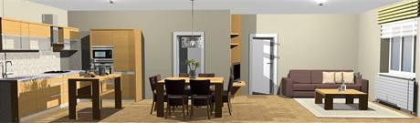 Jak co nejlépe spojit a zařídit obývací kuchyni