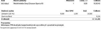 Potvrzení objednávky - Alza.cz