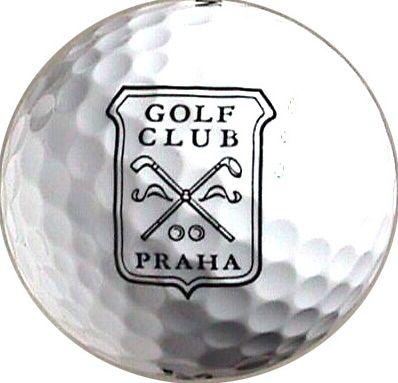 Golfový míč se znakem GC Praha