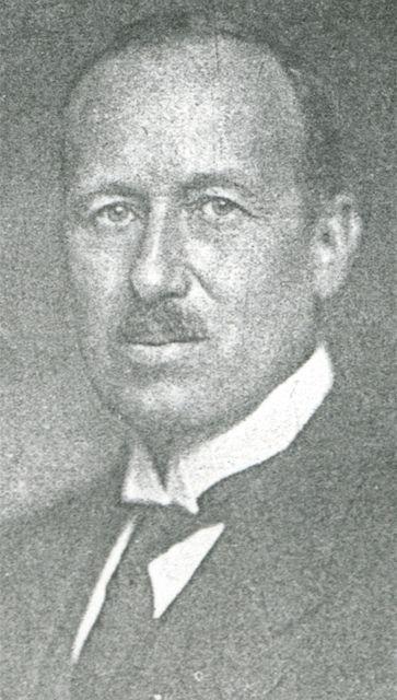 První předseda výkonného výboru Golf Clubu Praha Jaroslav Jahn.