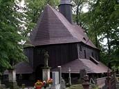 Broumov, dřevěný kostel