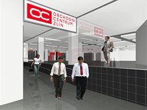 Rekonstrukce bývalého Domu potravin ve Zlíně finišuje, nové Obchodní centrum Zlín otevře už 16. září