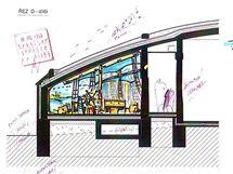 Jedna učebna bude vypadat jako kajuta lodi. Autorem návrhu je jihlavský architekt Jaroslav Huňáček