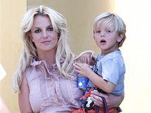 Britney Spears se synem Seanem Prestonem