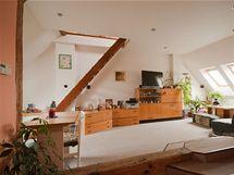 Původní obývaí pokoj