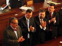 Projev prezidenta Václava Klause ve Sněmovně