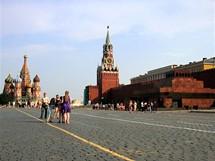 Moskva, Rudé náméstí s Leninovým mauzoleem