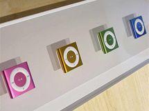 Nové iPody shuffle