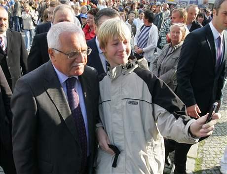 Návštěva prezidentského páru na Vysočině