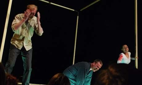 Spílání publiku: Martin Pechlát, Stanislav Majer a Gabriela Míčová