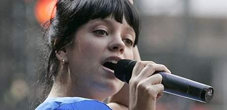 Koncert pro Dianu - Lily Allen