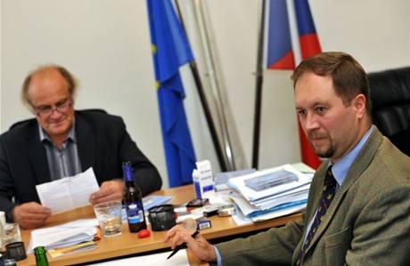Roman Joch a Michael Kocáb