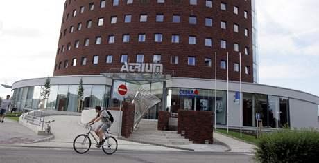 V Otrokovicích soukromý investor otevřel čtyřhvězdičkový hotel Atrium.
