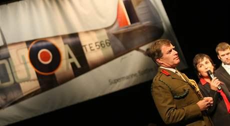V Jihlavě se konal slavnostní program k 70. výročí bitvy o Británii. Přijeli i letci z Vysočiny.