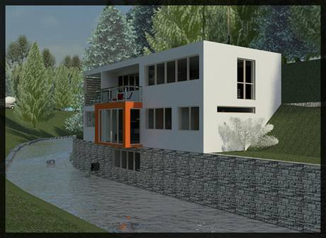 Rodinný dům s malou vodní elektrárnou získal hlavní cenu v soutěži Stavba roku Junior