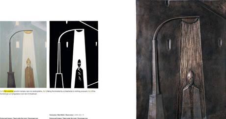 Stránky z knihy Viktora Karlíka Světla města