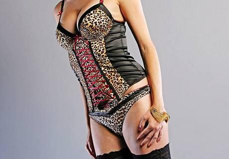 Spodní prádlo k postavě: štíhlá, bez výrazných křivek
