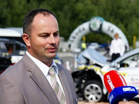 Petr Kraus, oddělení bezpečnosti vozu a zkoušek Škoda Auto