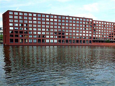 Jáva. Rezidenční bydlení Hoogkade od kanceláře Diener & Diener