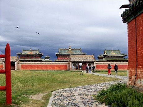 Budovy kláštera Erdenedzú