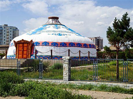 Jurta vcentru Ulánbátaru