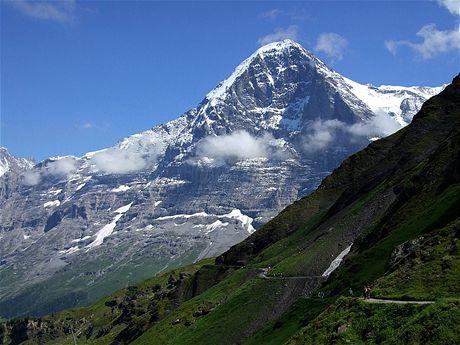 Severní stěna Eigeru od Wengenu
