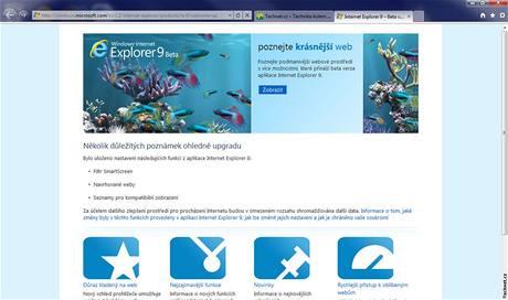 Microsoft Internet Explorer 9 Beta