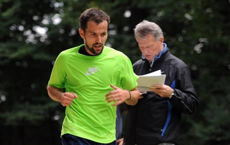 Test amatérských běžců na 30 km