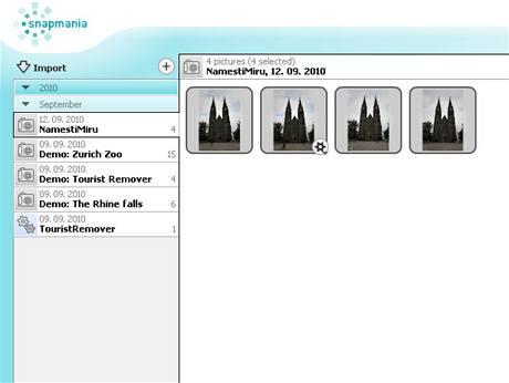 Snapmania- automaticky