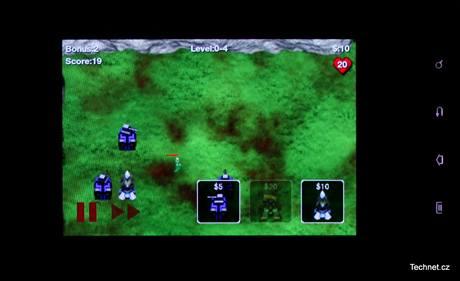 Hry se zatím zobrazují jen přes něco málo přes půlku obrazovky